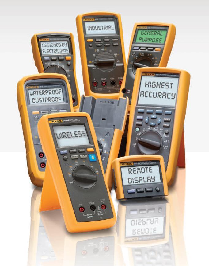 Multimeter FLUKE – Qualität hat Vorrang