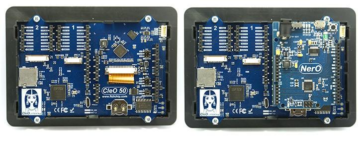 Bridgetek CleO50 – výkonnejší nasledovník modulu Cleo35