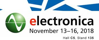 SOS electronic na výstave Electronica 2018