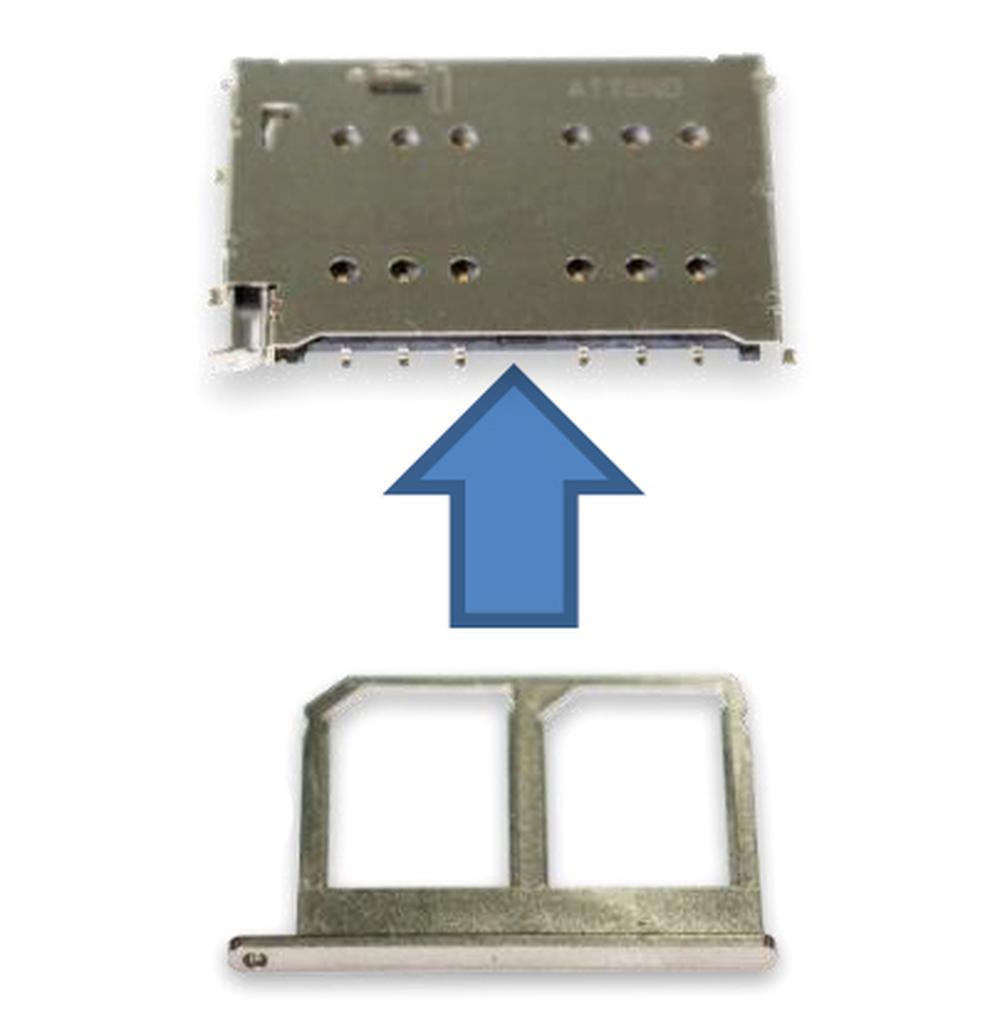 Praktický dvojitý držiak na Nano-SIM karty