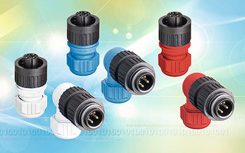 Robust industrial connectors - more colours for better price