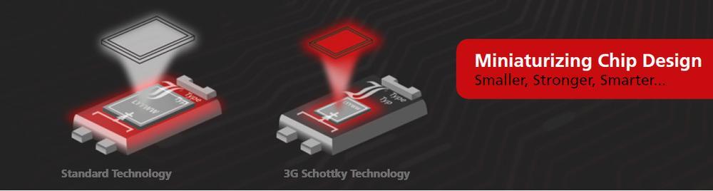 3G Schottky - menšie, lepšie, lacnejšie