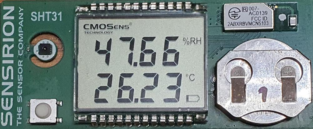 Temperature and humidity measurement (not only) by Sensirion sensors in practice