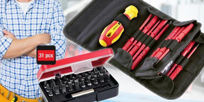 Užitočné sady nástrojov do každej dielne