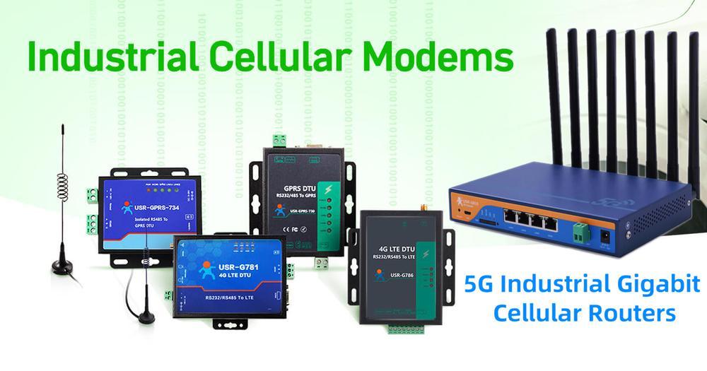 """Ipari mobil hálózati modemek és megfizethető """"serial to ethernet"""" konventerek"""