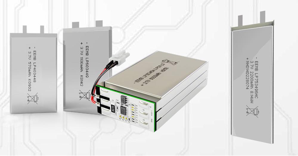 Batterie ricaricabili LiPol per applicazioni industriali