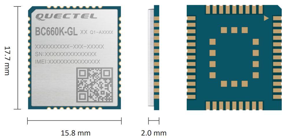 Modul LTE Cat NB2 multi-bandă - BC660K-GL