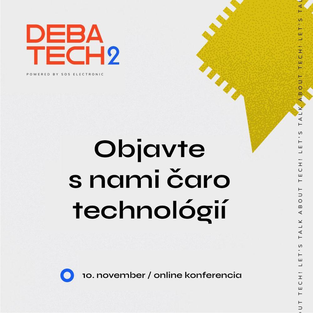 Prečo chystáme konferenciu DebaTech?
