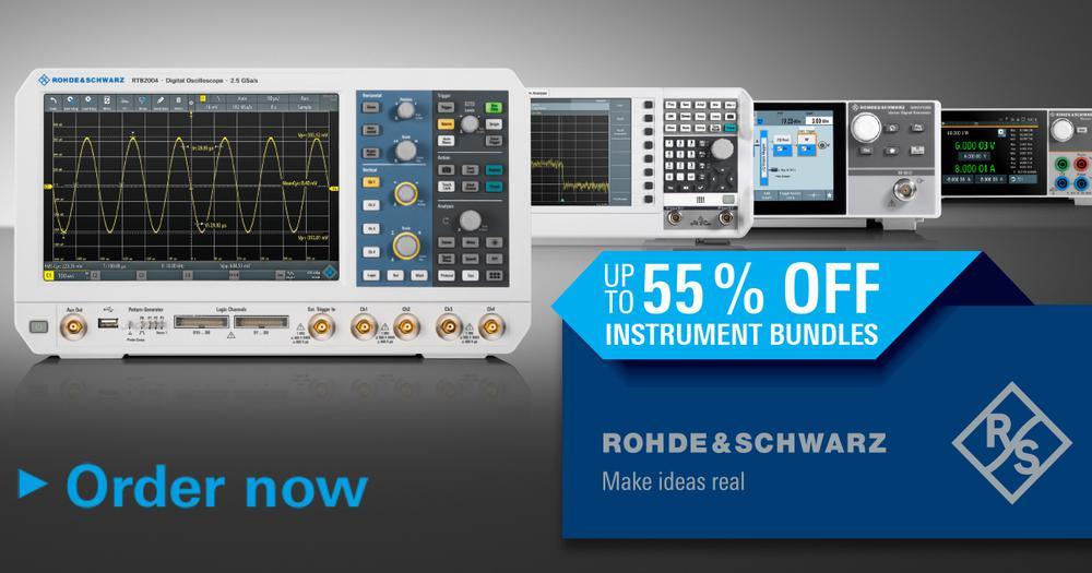 Laboratórne prístroje Rohde & Schwarz so zľavou až 55 %