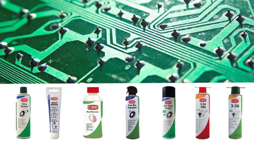 Webinár: Údržba elektroniky s CRC chémiou alebo ako najlepšie ochrániť svoje zariadenie?