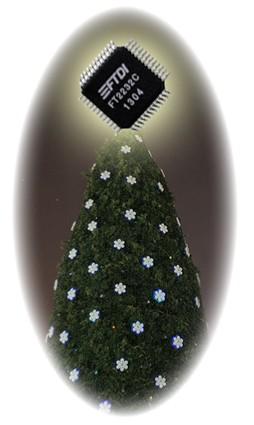 Ozdobte si vianočný stromček FTDI obvodmi za vynikajúco nízke ...